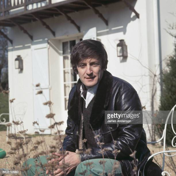 French actor Claude Rich at home 5th March 1969
