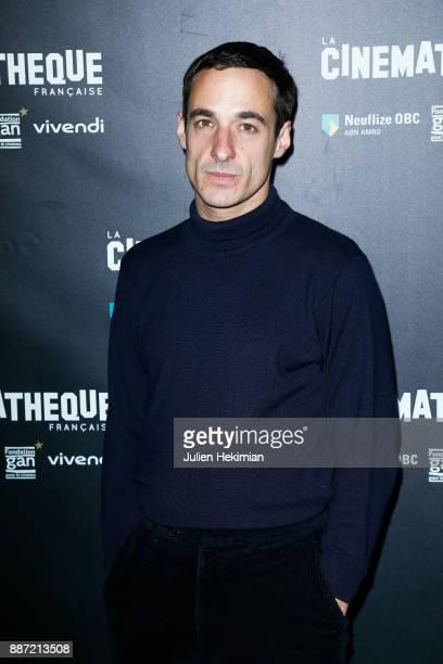 French actor Clement Roussier attends Soleil Battant Paris Premiere at Cinematheque Francaise on December 6 2017 in Paris France