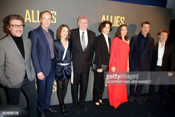 French actor Eric Theobald French actor Xavier de Guillebon French actress Camille Cottin US filmmaker and screenwriter Robert Zemeckis French...