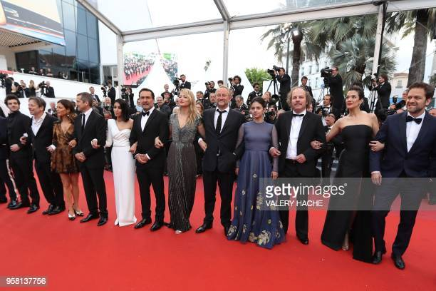 French actor Felix Moati French actor Mathieu Amalric French actress Marina Fois French actor Guillaume Canet French actress Leila Bekhti French...