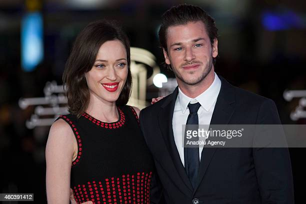 French actor Gaspard Ulliel and Gaelle Pietri attend the 14th Marrakech International Film Festival in Marrakech Morocco on December 12 2014