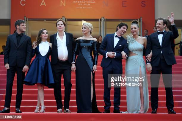 French actor Gaspard Ulliel French actress Laure Calamy French film director Justine Triet Belgian actress Virginie Efira FrenchCanadian actor Niels...