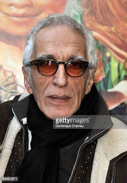 French actor Gerard Darmon attends the Paris premiere of 'Arthur and the Revenge of Maltazard' at Cinema Gaumont Marignan on November 22 2009 in...