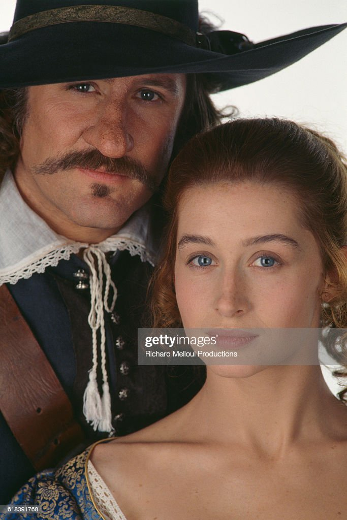 French Actors Gerard Depardieu and Anne Brochet : Photo d'actualité