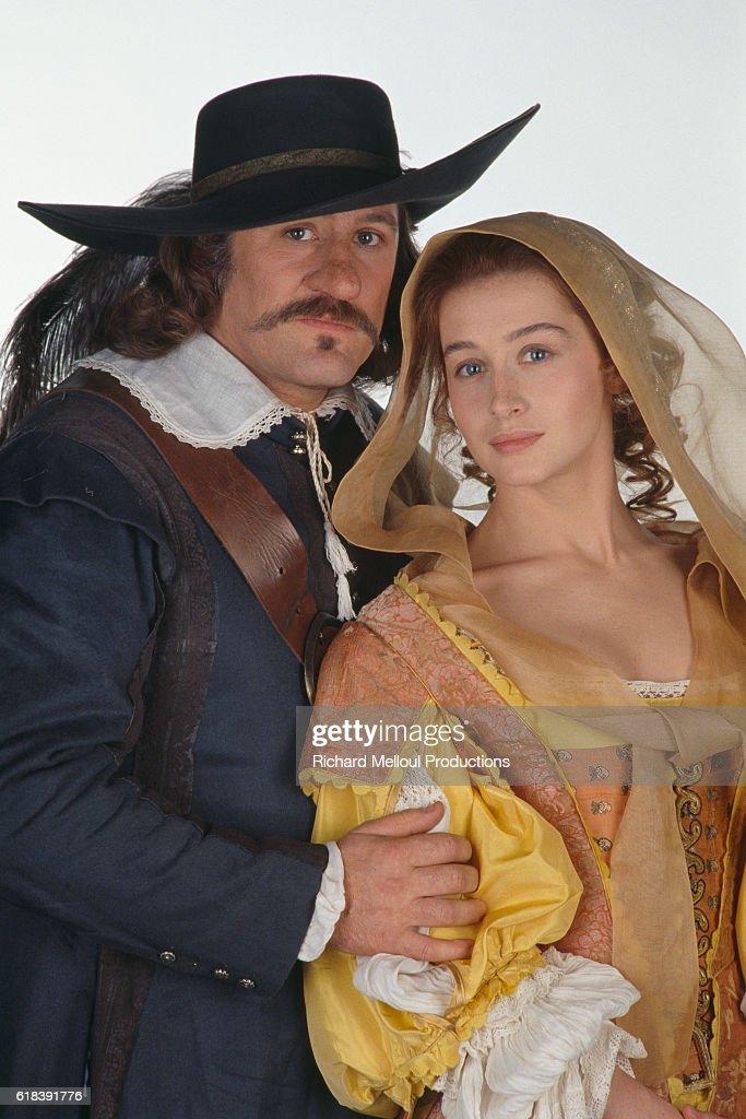 French Actors Gerard Depardieu and Anne Brochet : Photo d'actualité