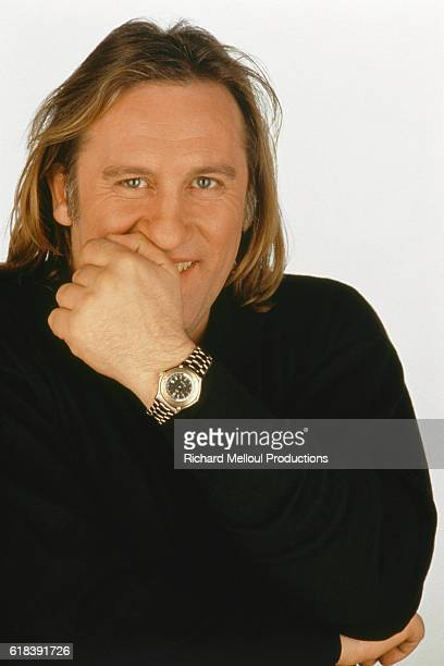 French actor Gerard Depardieu as president of the 1992 Cannes Film Festival