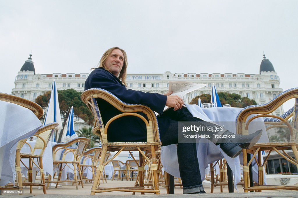 French Actor Gerard Depardieu : News Photo