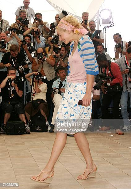 French actor Gerard Depardieu attends the ''Quand J'etais Chanteur' photocall during the 59th International Cannes Film Festival May 26 2006 in...