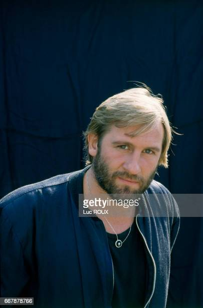 French actor Gerard Depardieu during the filming of the Bruno Nuytten movie Camille Claudel, in which he played the role of French sculptor Auguste Rodin.