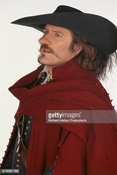 French actor Gerard Depardieu for the film Cyrano de Bergerac, by Jean Paul Rappeneau.