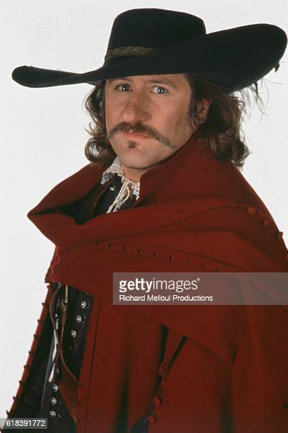 French actor Gerard Depardieu for the film Cyrano de Bergerac, by Jean Paul Rappeneau.