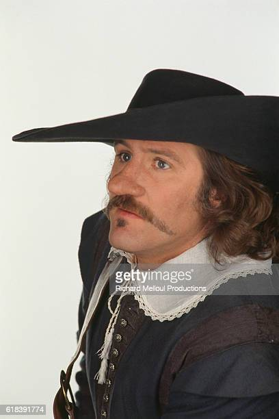 French actor Gerard Depardieu for the film Cyrano de Bergerac by Jean Paul Rappeneau