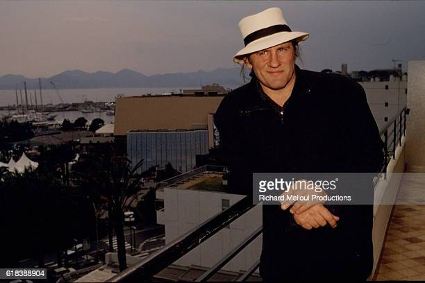 French Actor Gerard Depardieu is the president of the jury of the 45th Cannes Film Festival