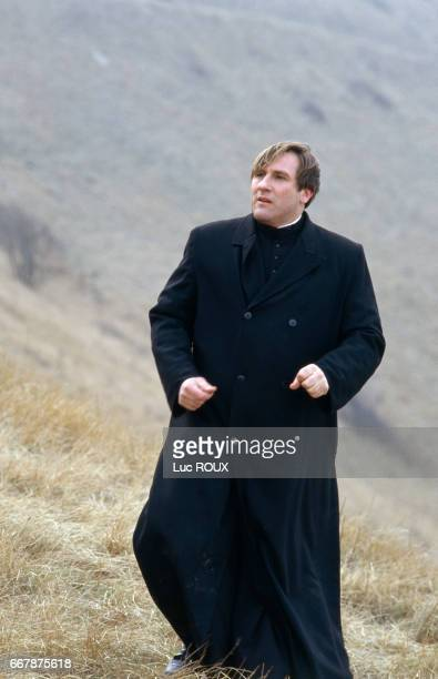 French actor Gerard Depardieu on the set of the film Sous le Soleil de Satan directed by Maurice Pialat The film won the Palme d'Or at the 1987...
