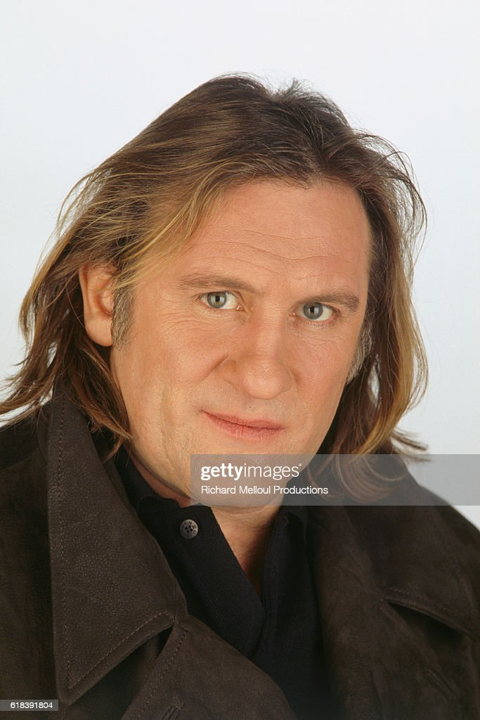 French Actor Gerard Depardieu : Photo d'actualité
