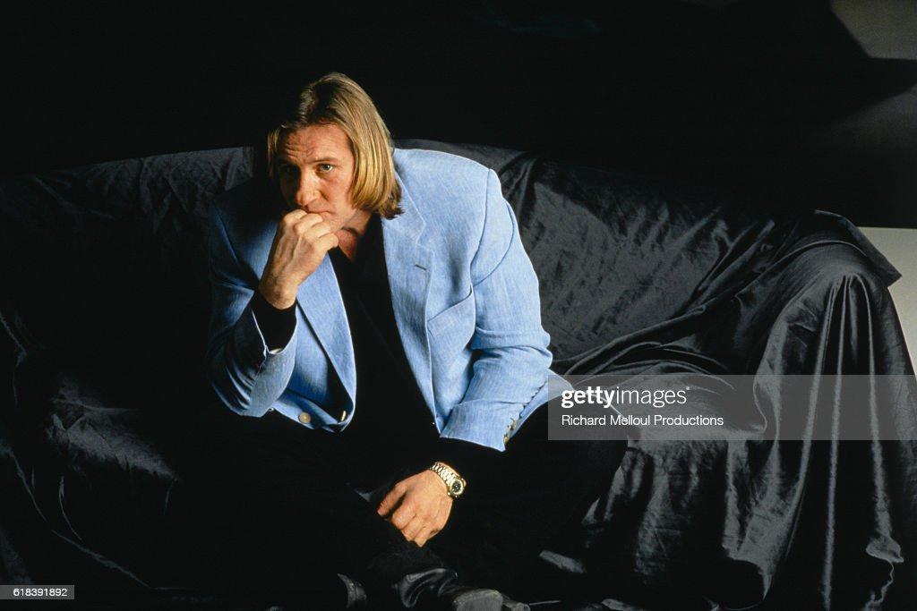French actor Gerard Depardieu : ニュース写真