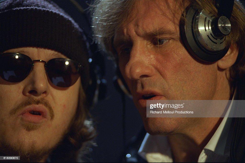 Gérard Depardieu records a song with Zucchero : Photo d'actualité