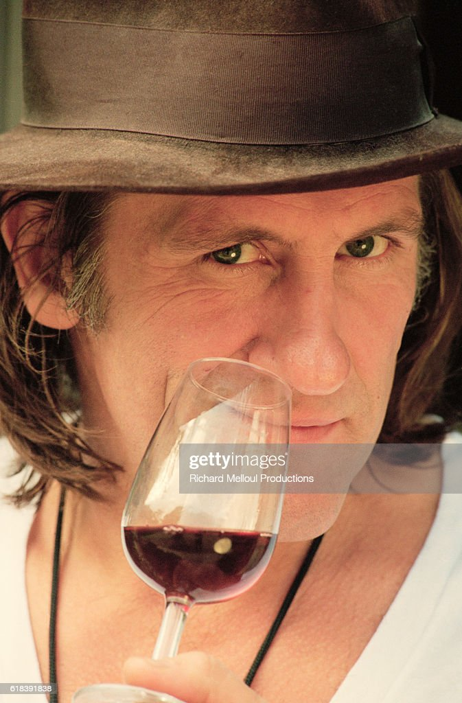 French Gerard Depardieu : Photo d'actualité