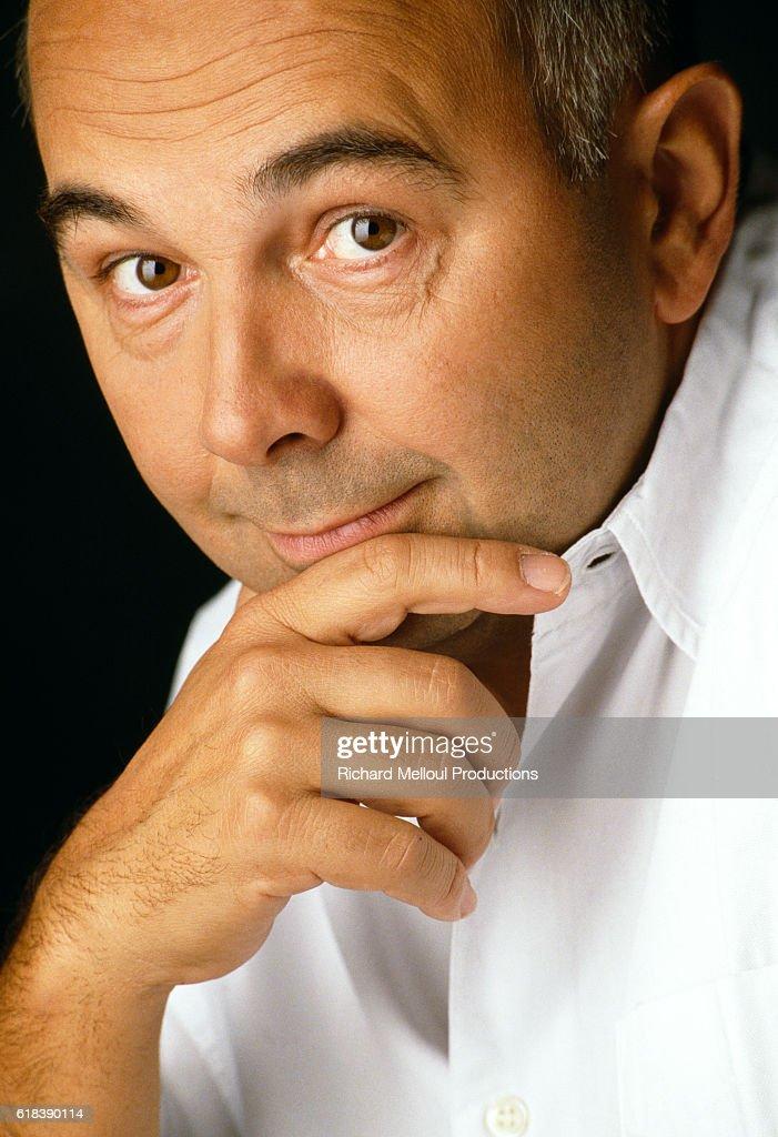 French Actor Gerard Jugnot : Photo d'actualité