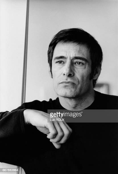 French actor Gerard Lanvin during the promotion of the film Le Gout des Autres directed by Agnes Jaoui