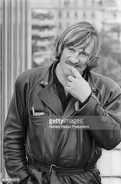 French actor Gérard Depardieu attends the 37th Cannes Film Festival.