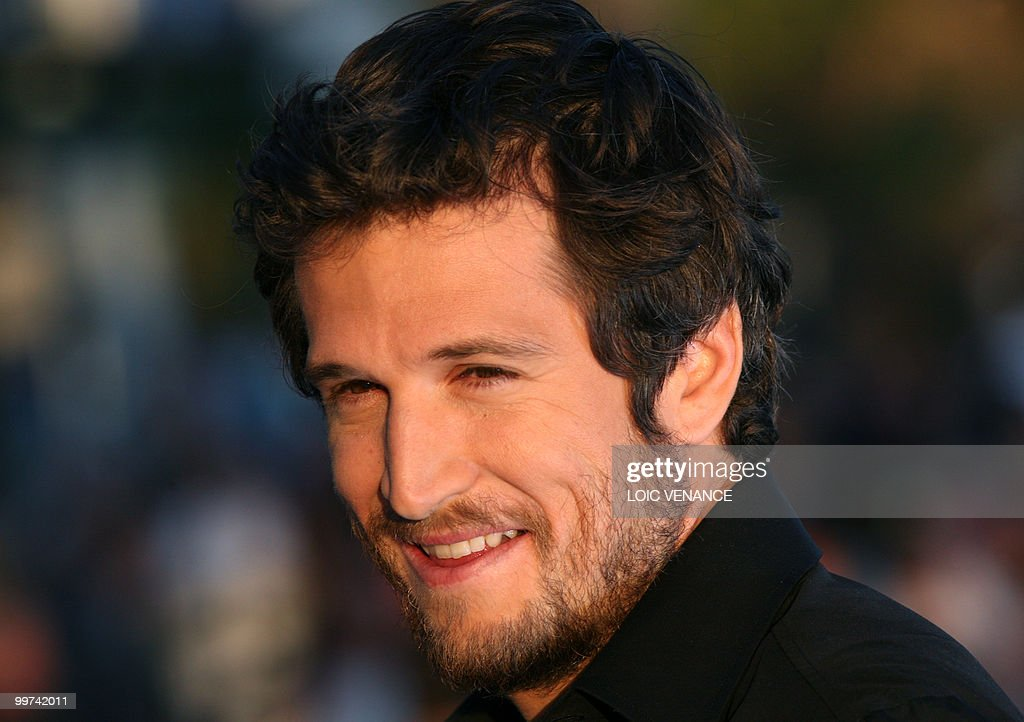 French actor Guillaume Canet attends the Canal+ TV show 'Le Grand Journal' at the 63rd Cannes Film Festival on May 17, 2010 in Cannes.