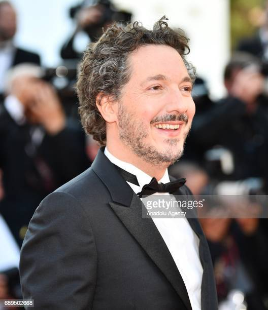 French actor Guillaume Gallienne arrives for the Closing Awards Ceremony of the 70th annual Cannes Film Festival in Cannes France on May 28 2017