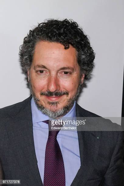 French actor Guillaume Gallienne attends the 36th Romy Schneider Patrick Dewaere Award at Hotel Lancaster on June 11 2018 in Paris France