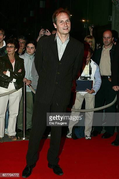 French actor Hyppolite Girardot attends the Paris premiere of Mick Davis' movie 'Modigliani'