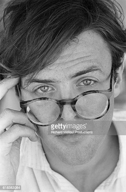 French actor Jacques Bonnaffe attends the 1984 Cannes Film Festival