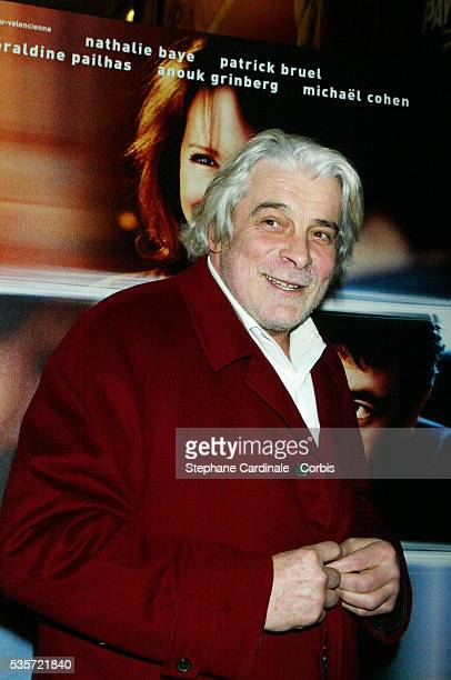 French actor Jacques Weber attends the premiere of 'Une Vie à T'Attendre'