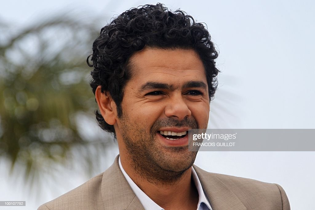 French actor Jamel Debbouze poses during the photocall of 'Hors La Loi' (Outside of the Law) presented in competition at the 63rd Cannes Film Festival on May 21, 2010 in Cannes.