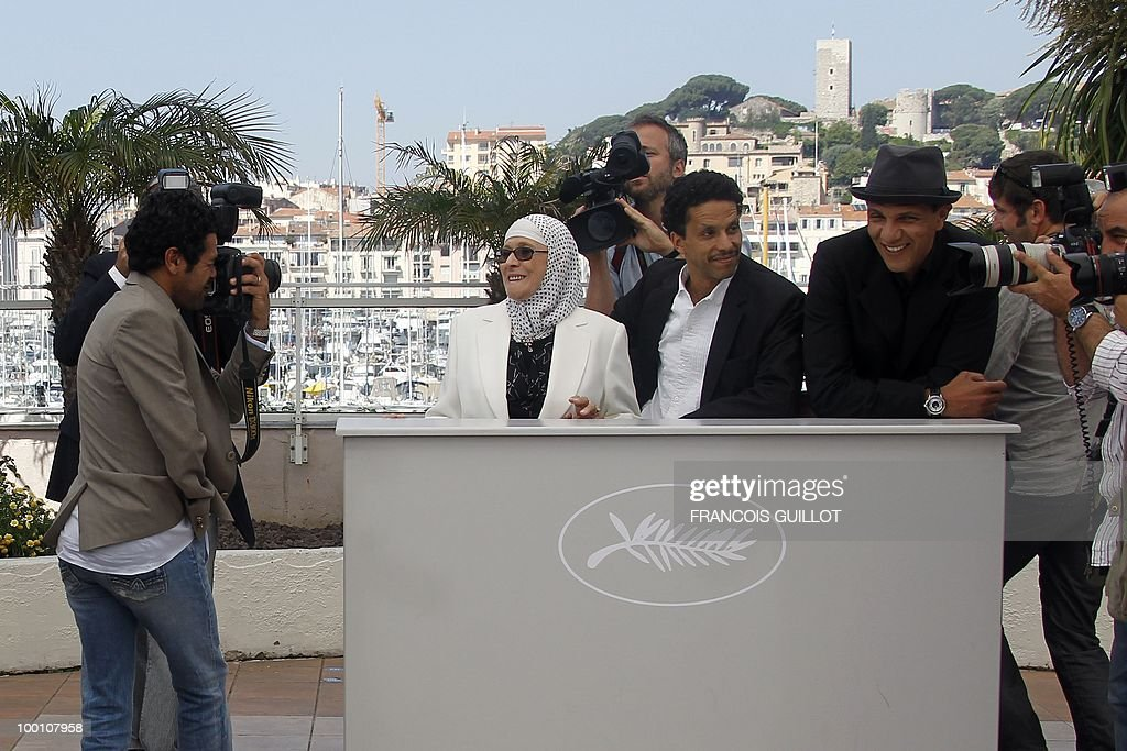 French actor Jamel Debbouze pretends to