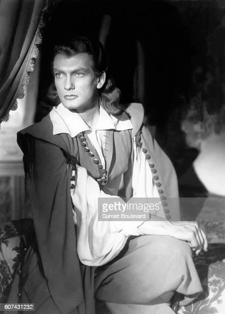 French actor Jean Marais on the set of La Belle et la Bête written and directed by Jean Cocteau