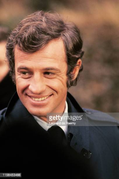 French actor Jean Paul Belmondo, 1972