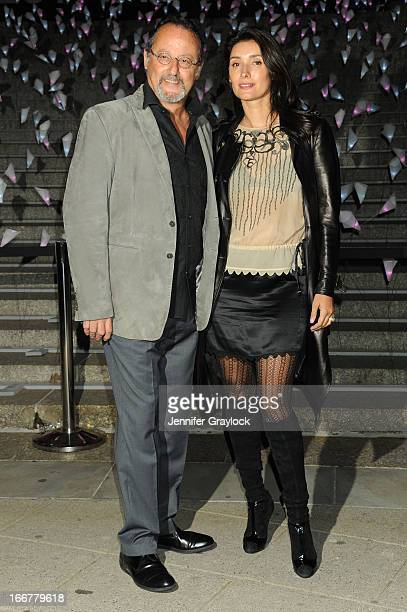 French Actor Jean Reno and Zofia Borucka attend the Vanity Fair Party 2013 Tribeca Film Festival Opening Night Party held at the New York State...
