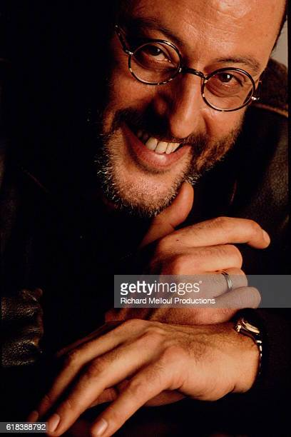 French actor Jean Reno poses during a photocall for Chistian Lejale's movie Loulou Grafitti