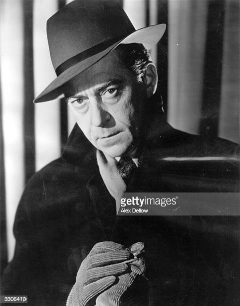 French actor Jean Servais stars in the French film 'Du Rififi Chez Les Hommes' directed by Jules Dassin for Indus / Pathe / Prima Original...