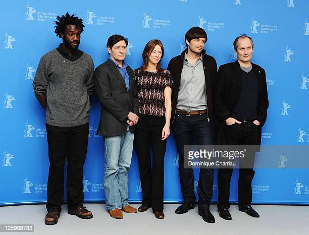 French actor JeanChristophe Folly Dutch actor Pierre Bokma German actress Jenny Schily German director Ulrich Koehler and French actor Hippolyte...