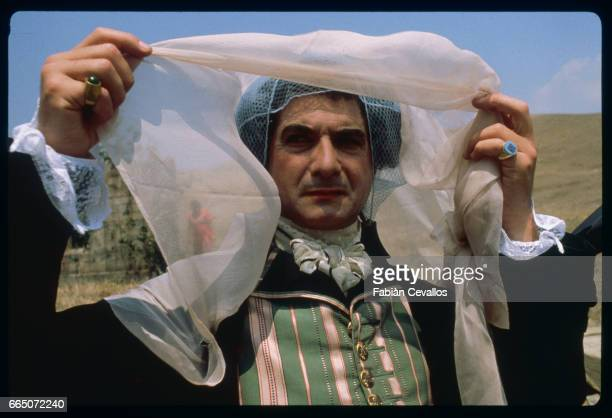 French actor JeanClaude Brialy on the set of La Nuit de Varennes directed by Italian Ettore Scola