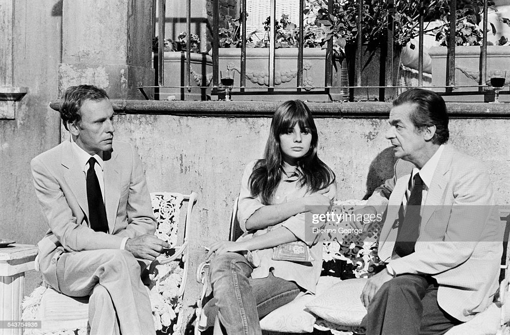 On the set of La Terrazza Pictures   Getty Images