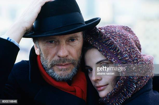 French actor JeanLouis Trintignant and his daughter actress Marie Trintignant