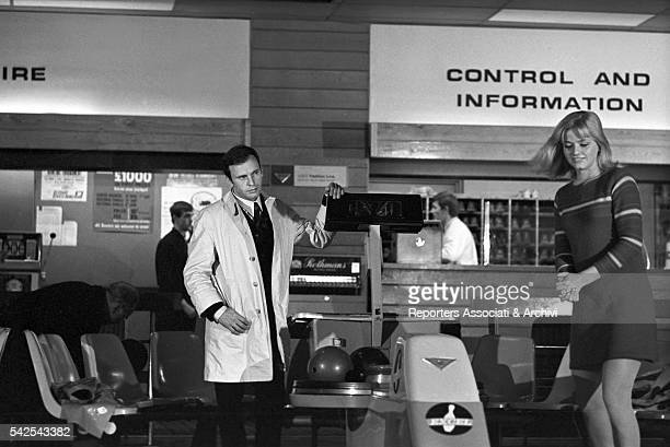 French actor JeanLouis Trintignant and Swedish actress and singer Ewa Aulin in With Heart in Mouth 1966