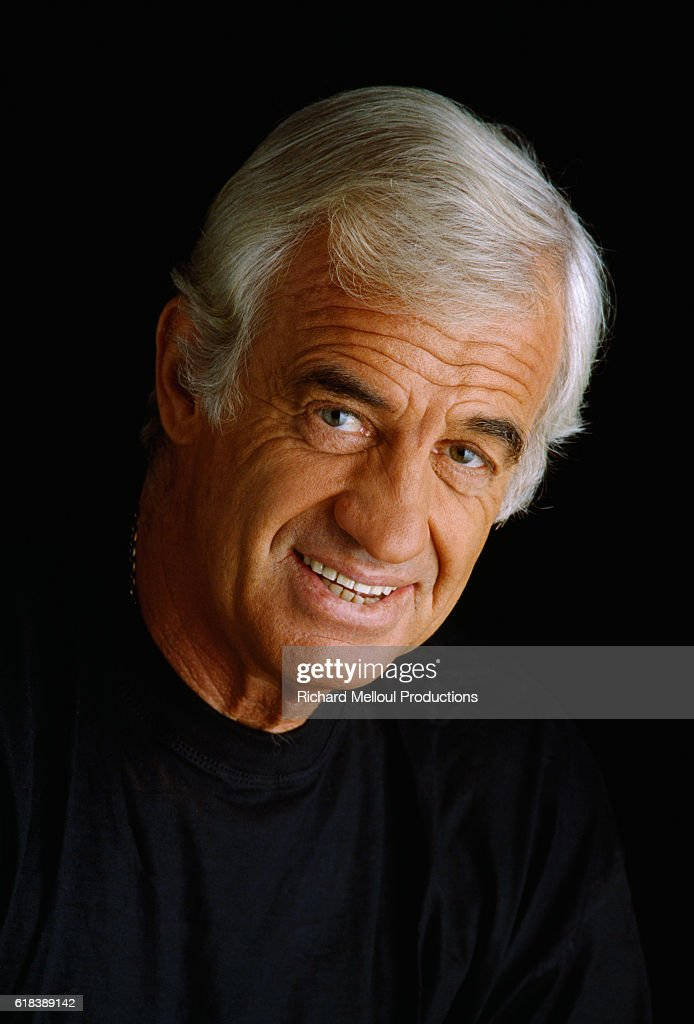 French Actor Jean-Paul Belmondo : Photo d'actualité