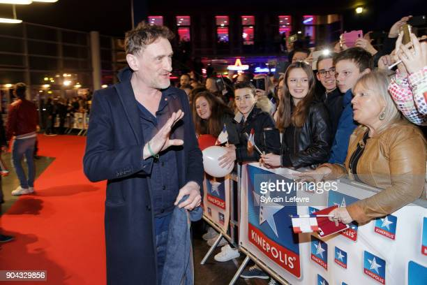 French actor JeanPaul Rouve attends 'Tuche 3' premiere at Lomme Kinepolis on January 12 2018 in Lille France