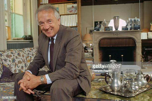 French actor JeanPierre Cassel at home