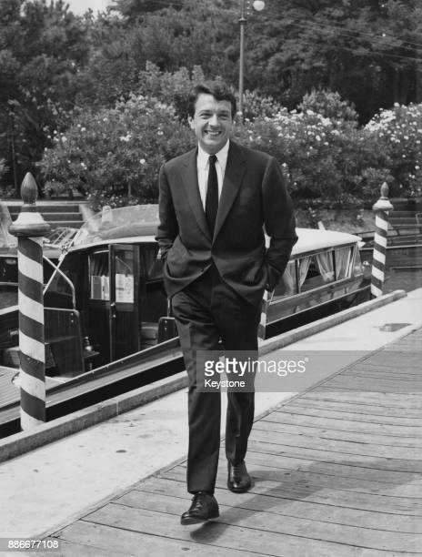 French actor JeanPierre Cassel at the Venice Film Festival Italy circa 1962