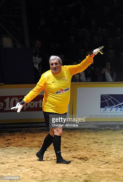 French actor Jean-Pierre Castaldi attends the 'Beach Soccer Celebrity' For Fight Aids at Chapiteau du Cirque on December 11, 2010 in Monaco, Monaco.