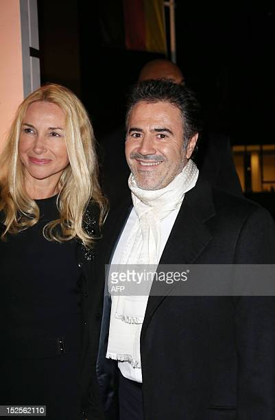 French actor Jose Garcia poses as he arrives to attend the inauguration ceremony of the Cite du cinema a film studios complex heralded as Hollywood à...