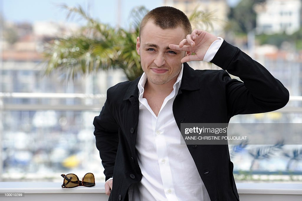 French actor Jules Pelissier poses durin